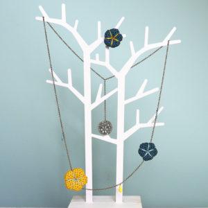 kit crochet collier